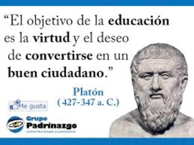 PLATÓN, IDEALISTA.