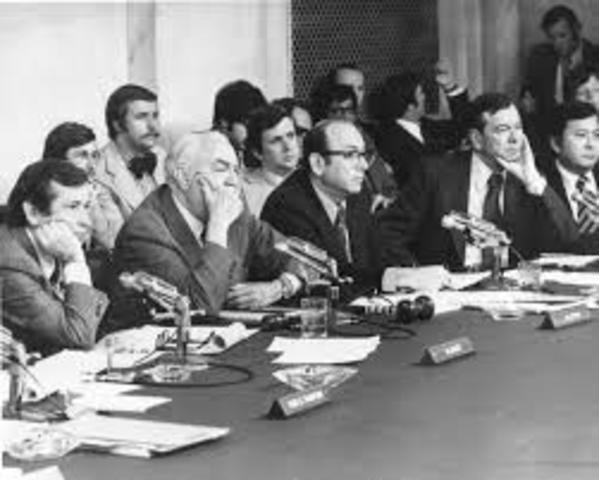 Nixon and the Watergate Affair Hearings