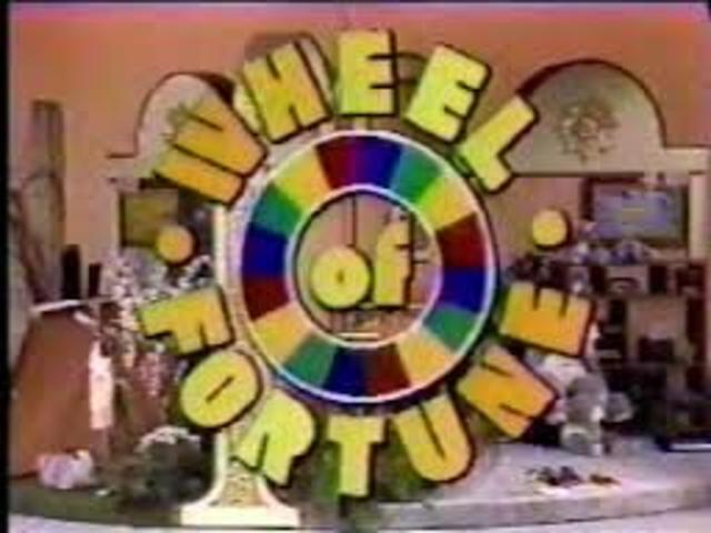 The television show Wheel of Fortune premieres