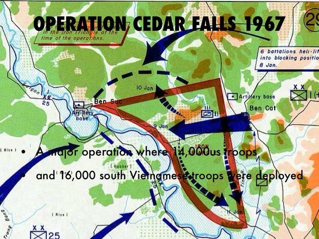 Vietnam- Operation Cedar Falls