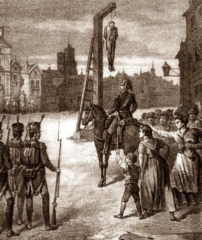 Execució de Rafael del Riego