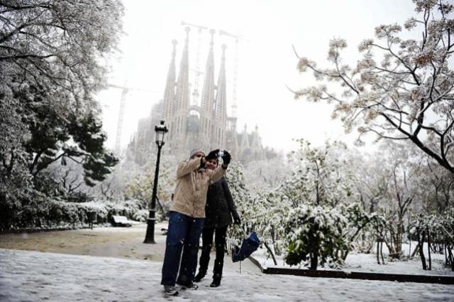 Nevada a Barcelona (CLIMÀTIC)