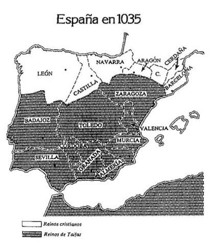Consolidación de los tres reinos: Castilla, Aragón y Navarra.