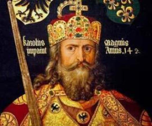 Rechazo de los musulmanes-Carlos Martel
