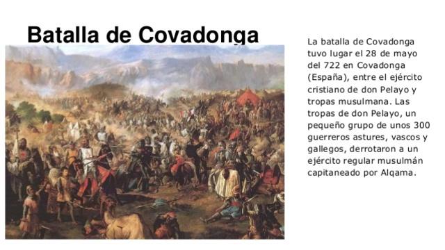 Batalla de la Covadonga