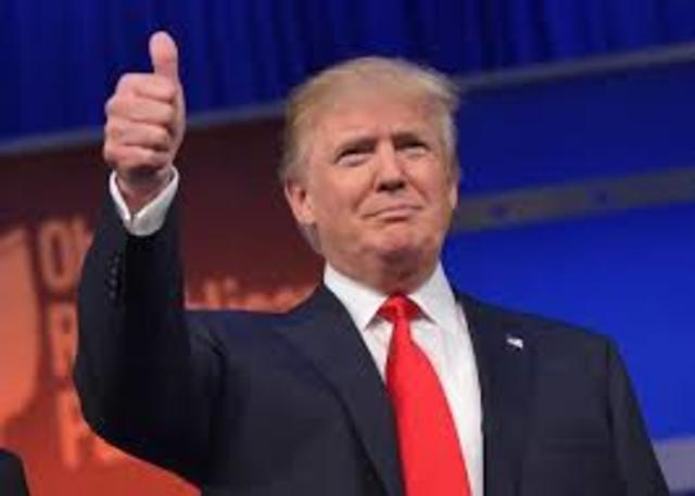 Canvi de president a Amèrica.
