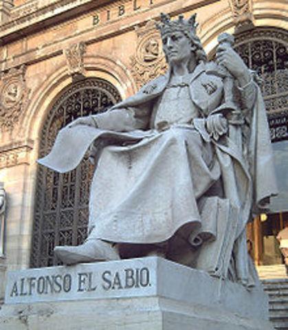 """Alfonso X """"El Sabio"""""""