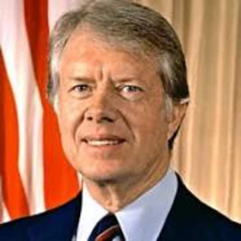 Jimmy Carter Becomes President