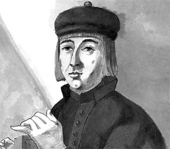 Nacimiento de Juan Ruiz El arcipreste de Hita