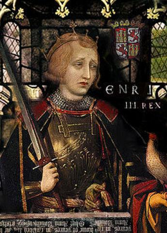 Nacimiento de Enrique III