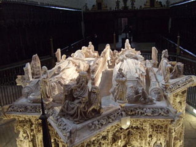Muerte de Juan II de Castilla