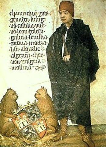 Muerte de Enrique IV Rey de Castilla