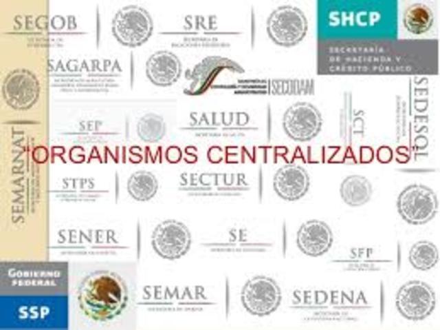 Secretarias centralizadas