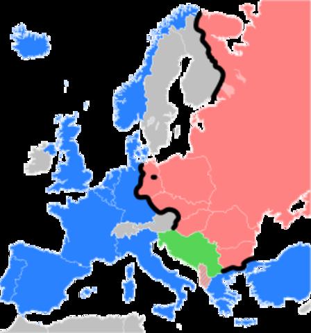 Cortina de Hierro -  Eiserner Vorhang