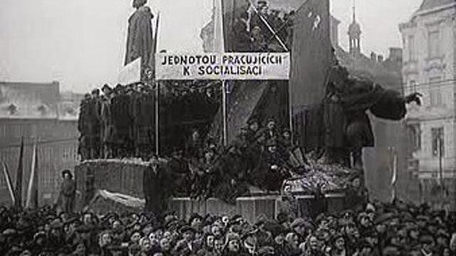 Golpe de estado comunista en Praga