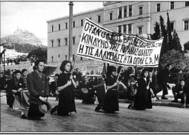 Guerra Civil en Grecia