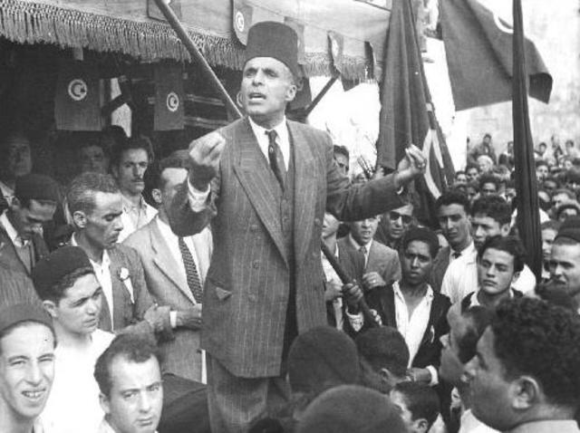 Independencia Túnez y Marruecos