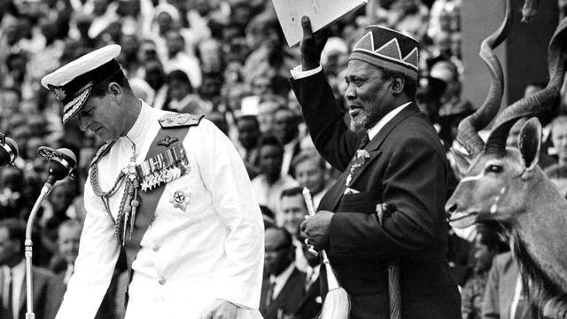 Independencia Kenia y Uganda