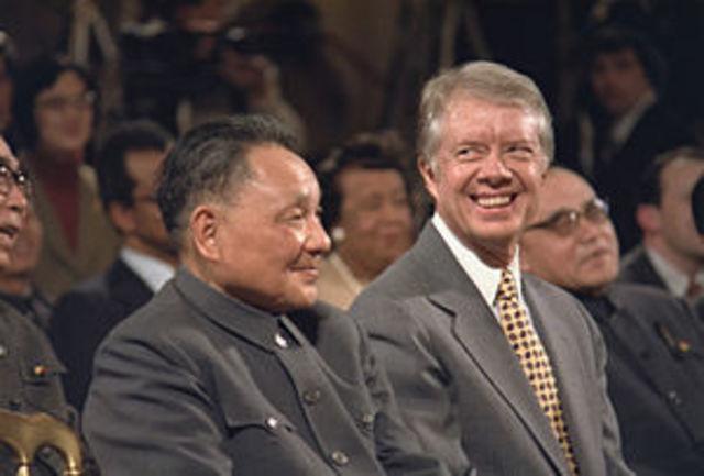 EE.UU. y la China Popular establecen relaciones diplomáticas