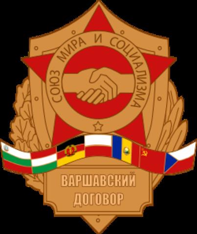 Fin del Pacto de Varsovia