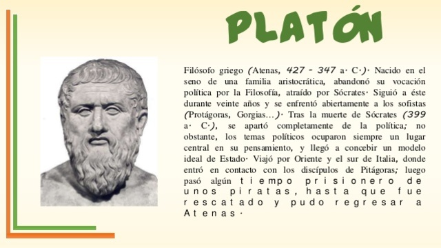 Platón (427 - 347)