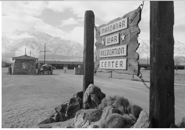 Manzanar Temporary Detention Center