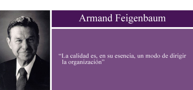 Armand Feigenbaum-Administración por Calidad Total (TQM)