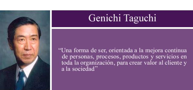 Genichi Taguchi-Diseño de experimentos