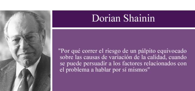 Dorian Shainin-Ingeniería estadística