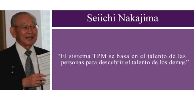 Seiichi Nakajima-Sistema de Mantenimiento Productivo Total