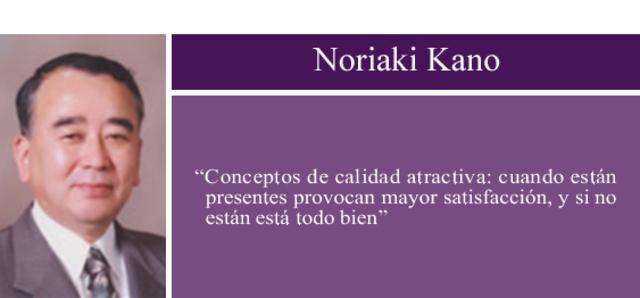 Noriaki Kano-Modelo de Kano