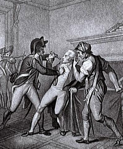 Caída de Robespierre