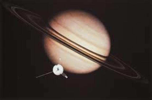 American Pioneer 11 Passes Saturn