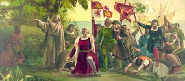 Descubrimiento de América por Cristóbal Colón
