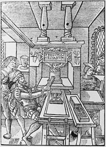 La imprenta en España