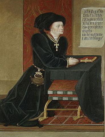 Nacimiento de Íñigo López de Mendoza, Marqués de Santillana