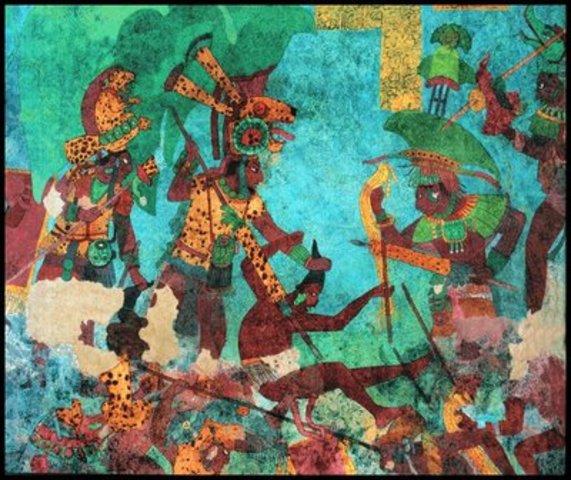 650 d.C. – 900 d.C. CAÍDA DE TEOTIHUACÁN