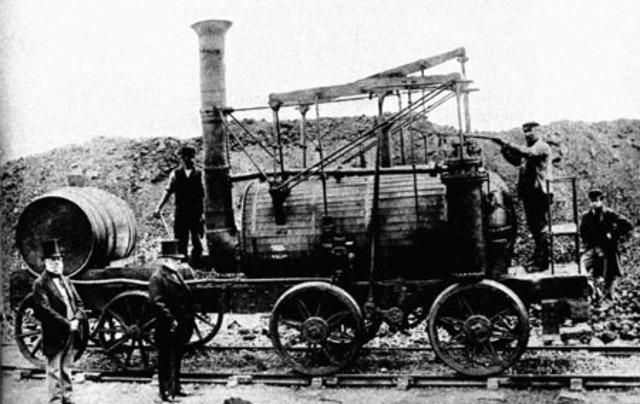 Ferroviário - Locomotiva a vapor