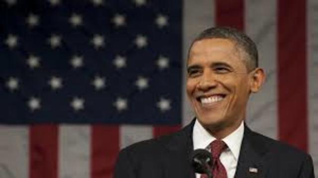 Primer president negre als Estats Units d'America