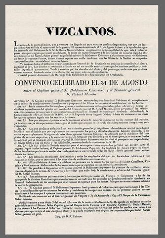 CONVENIO DE VERGARA