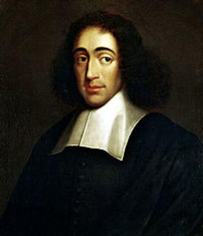 Baruch Spinoza.