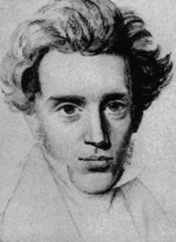 Søren Kierkegaard.