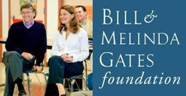 Bill Gates has a lot of money in the foundation now