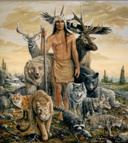 Natives people and nature- Animism