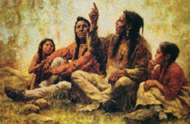 Native american values