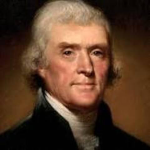 Thomas Jefferson seeks permission for expedition