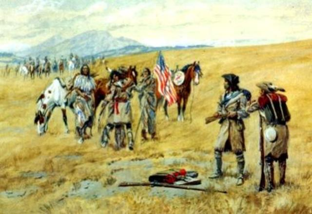 Encounter with the Shoshone Indians
