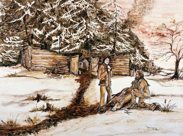 Christmas at Fort Clatsop
