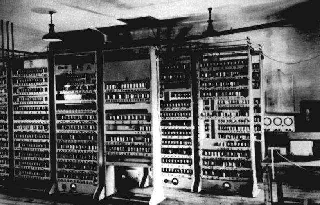 Computadoras de válvula de vacio