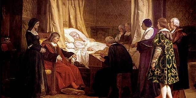 Muerte de Isabel de Castilla